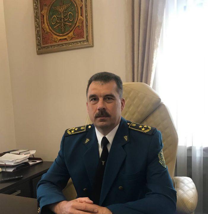 Начальник Поліської митниці Сергій Панчук.