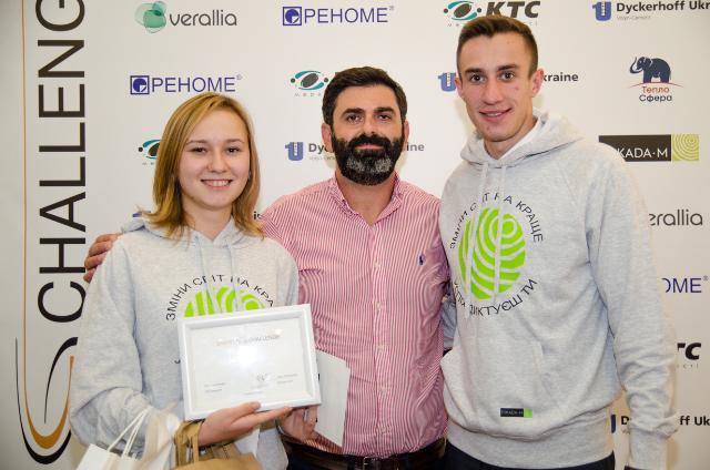 Переможці чемпіонату з Володимиром Патісом