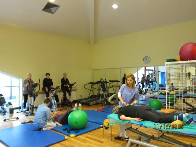 Рівненських медиків приємно вразили умови та можливості для реабілітації хворих, які створені у краківській клініці