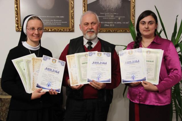 Вчителі-переможці конкурсу - володарі дипломів І, ІІ і ІІІ ступенів