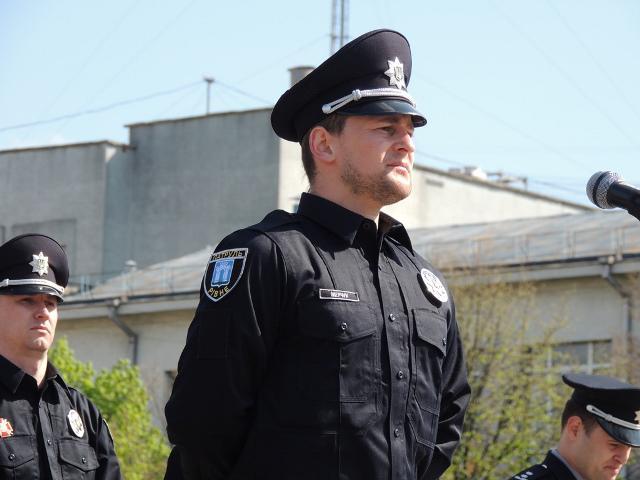 Сергій Мерчук - керівник патрульної поліції Рівного