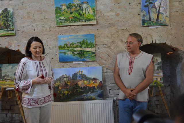 Руслана Каламаж та  Микола Бендюк.<br /> Фото Наталії Веляник