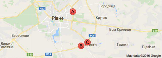 Мапа Google