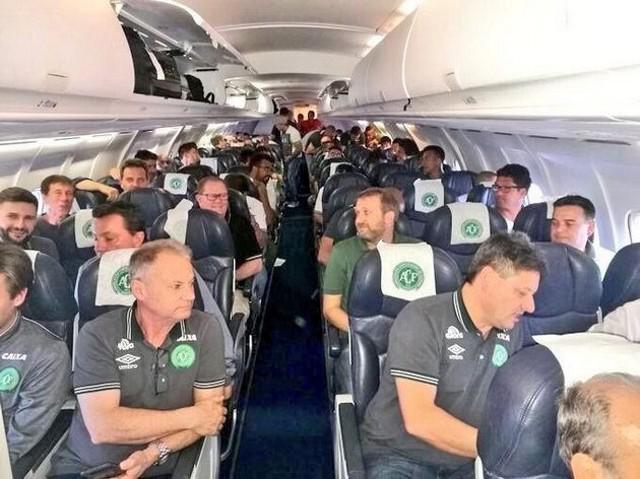 Бразильська команда &quot;Шапекоенсе&quot;<br /> фото з: tsn.ua.