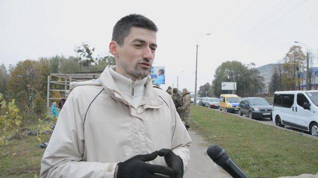 Виконавчий директор ГО «Антикорупційний моніторинг», журналіст Юрій Дюг. Фото з архіву Громадського радіо