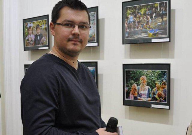 Журналіст телеканалу РТБ Іван Марчук. Джерело: FB/Іван Марчук