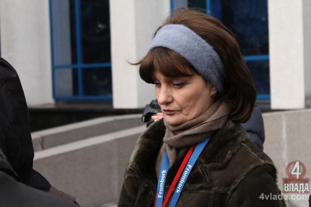 Власний кореспондент Радіо Свобода у Рівному Валентина Романюк. Фото з архіву