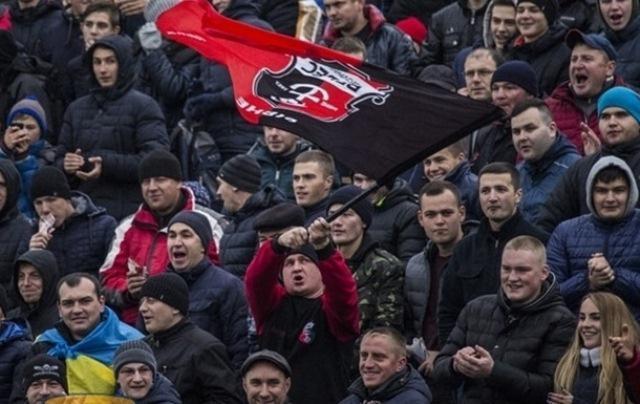Фото: radiotrek.rv.ua<br /> Фанати Вереса