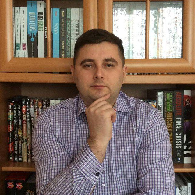Максим Карповець.<br /> Фото із його сторінки у мережі Фейсбук.