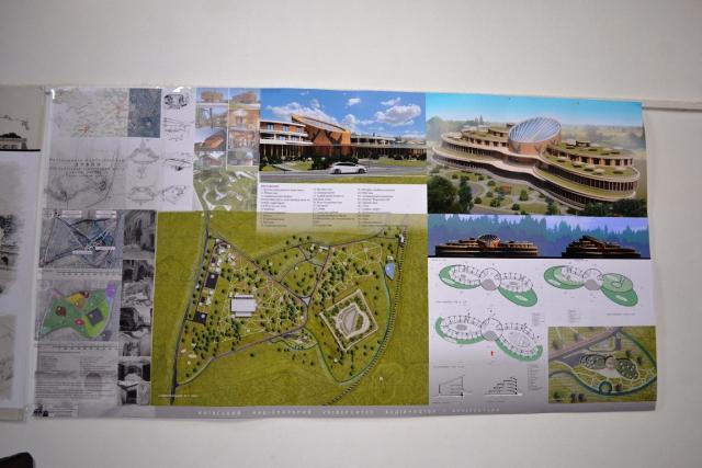 Проект реконструкції території навколо Тараканівського форту<br />