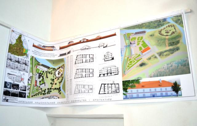 Проект реконструкції частини території Дубенського замку під готель<br />
