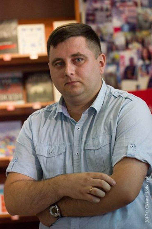 Максим Карповець.<br /> <br /> Фото Оксани Хорхолюк.