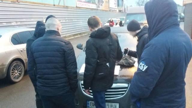 Фото прес-групи УСБУ в Рівненській області.