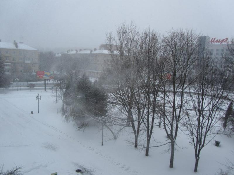 Фото: 21-22 березня 2013 року місто Рівне<br />