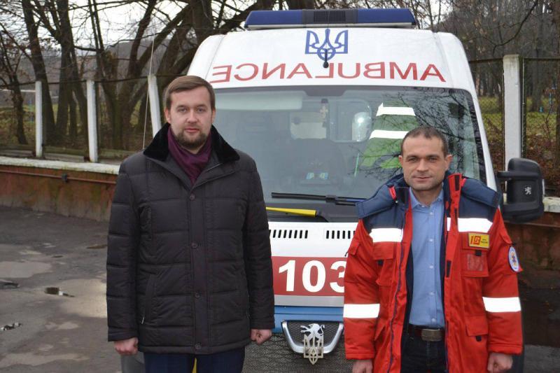 Олексій Бучинський (ліворуч) та Андрій Бортнік – однопартійці. Фото зі сторінки Олексія Бучинського у Фейсбуці<br />