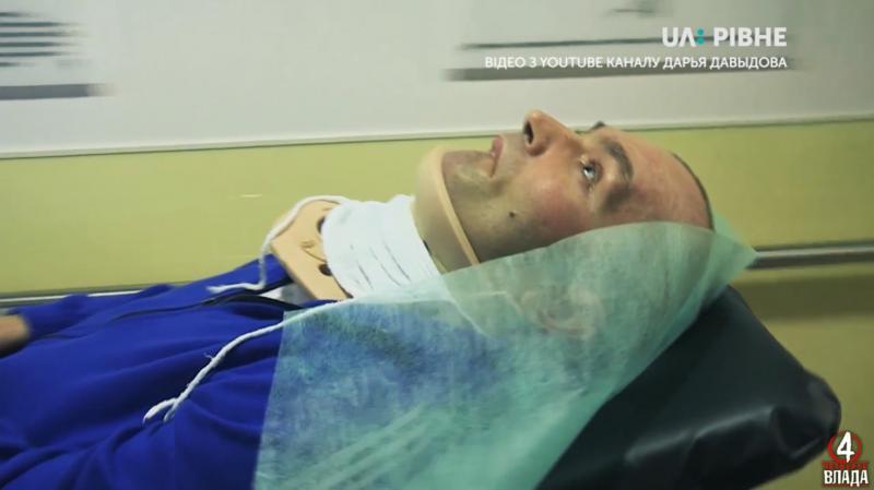 Епізод з перевезенням Романа Кубишкіна також увійшов до справи. Фото: ютьюб-канал Дарья Давыдова <br />