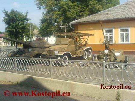 Музей техніки Великої Вітчизняної війни в Костополі