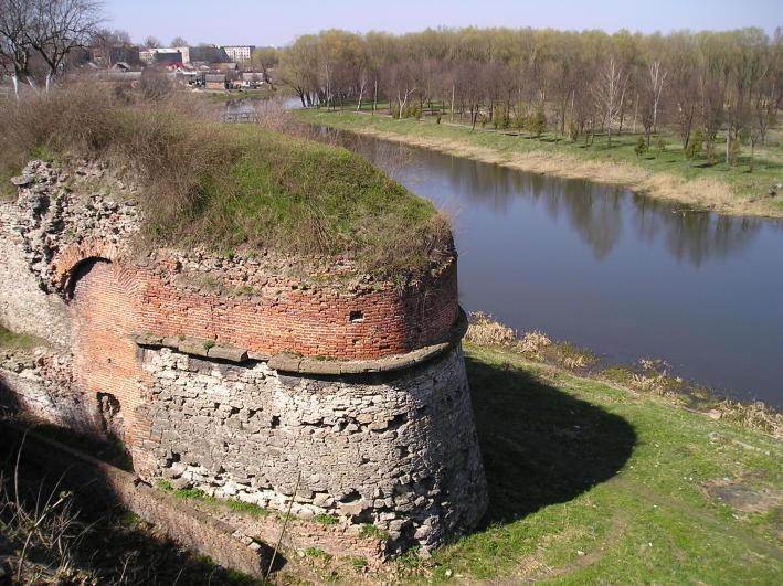 Замок князів Любомирських. Дубно