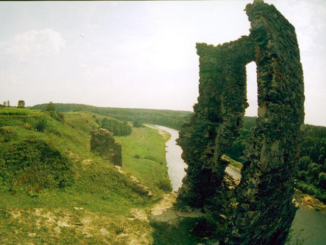 Руїни Губківського замку. Березнівський район