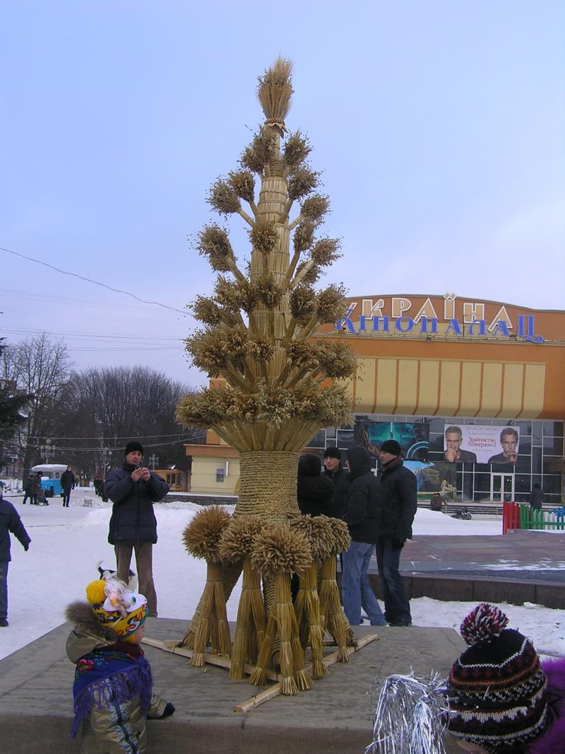 Український різдвяний оберіг дідух