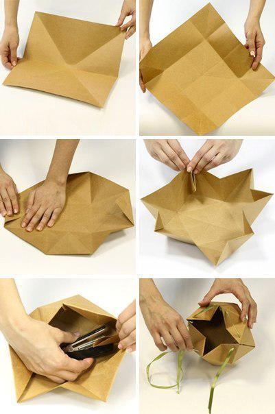 Упаковка из бумаги