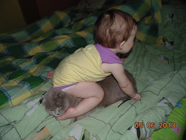 Софійка Тимощук, 1 рік