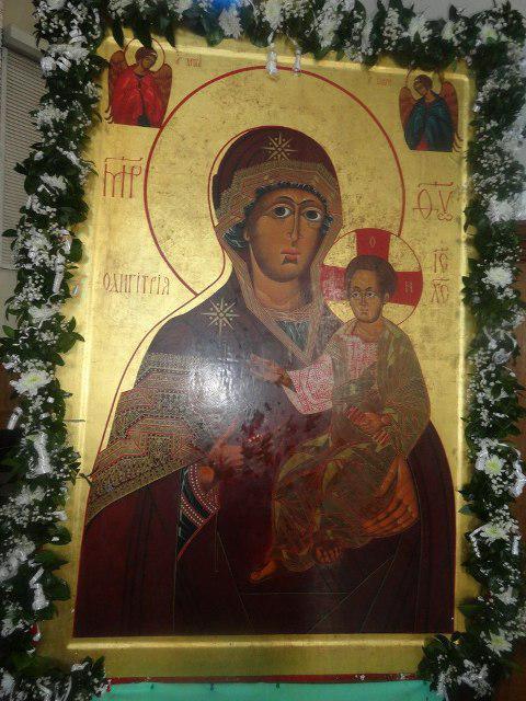 Ікона Божої Матері «Одигітрія Дорогобузька»