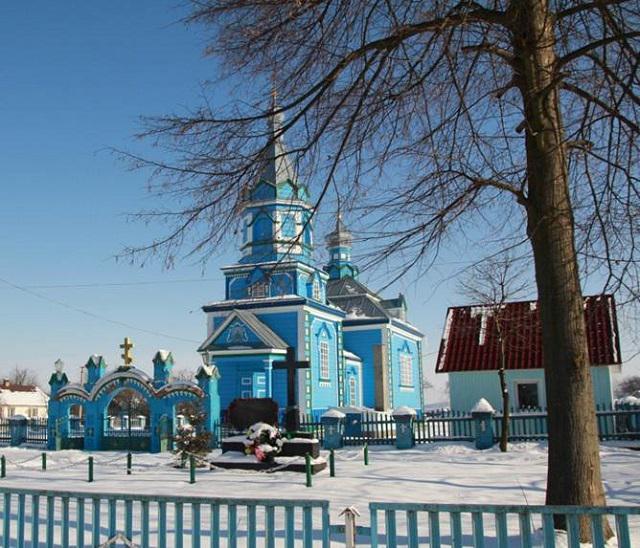 Церква Покрови Пресвятої Богородиці в с.Хотин Радивилівського району
