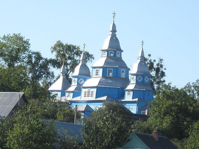 Свято-Покровська церква в с.Бронники Рівненського району