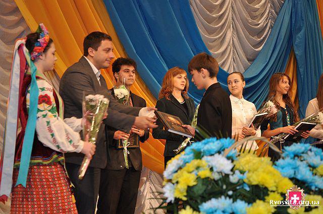 Під час минулорічного урочистого відкриття конкурсу в Рівному