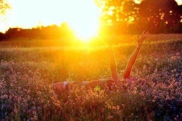 фото весна солнца