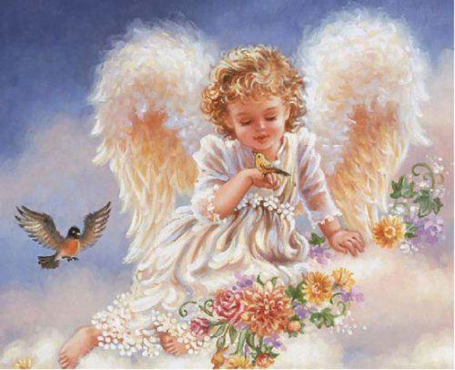 Ангел для открытки
