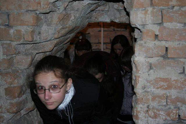 А ви була у легендарних підземеллях Острозької академії? Така захоплююча екскурсія - це частина навчальної програми!