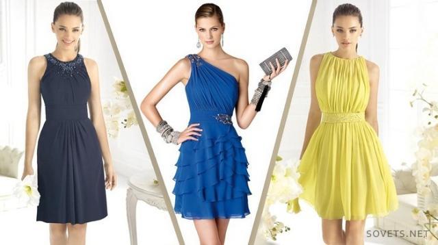 Залишаються в моді також випускні плаття з довжиною вище колін. dbaf7072fbbb7