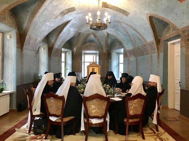 Засідання Священного Синоду ПЦУ, фото - свящ. Іван Сидор