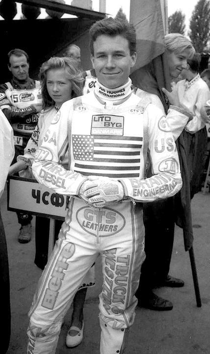 Біллі Хемілл (США) в Ровно - 11.08.1991 р.<br /> <br />