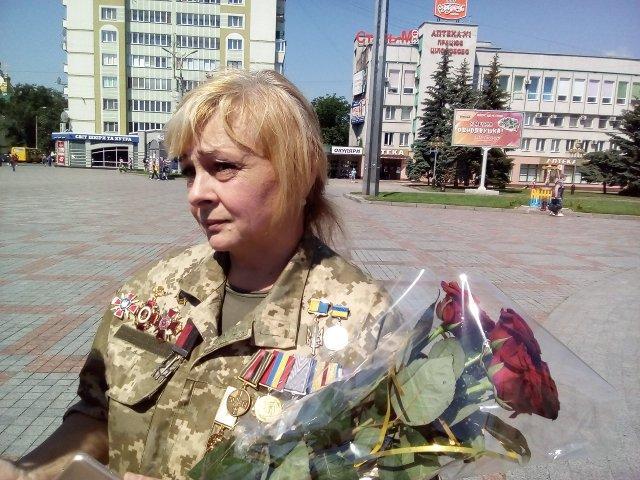 Лариса Кирикович, фото Олександра Шевчука