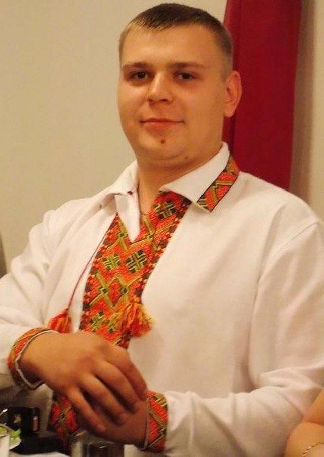 Тарас Гречко. Фото з його сторінки у мережі Фейсбук