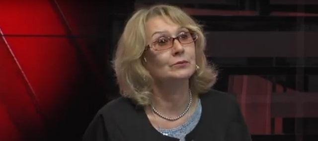 Лідія Мартинюк, зображення з відео телеканалу Рівне - 1.