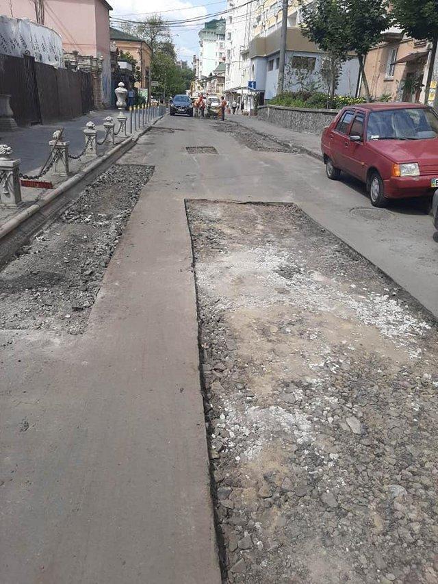 Ремонт на вулиці Шкільній, фото зі сторінки facebook.com/RivneSHEU