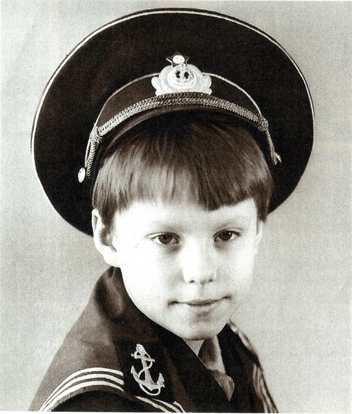 Андрій Доманський в дитинстві