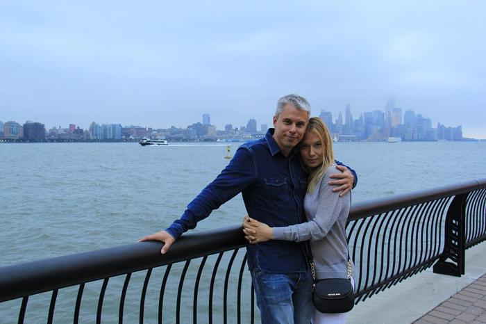 Андрій Доманський з дружиною Мариною