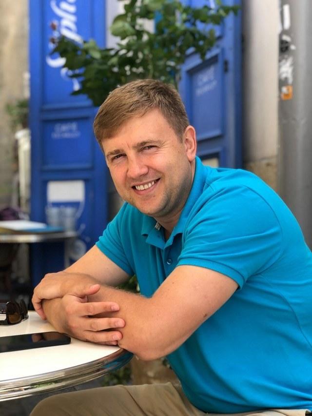 Віталій Коваль, фото з його сторінки у мережі Фейсбук.