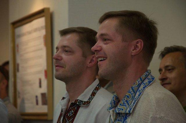 Олександр та Віктор Булига. Фото зі сторінки Олександра Булиги у ФБ.