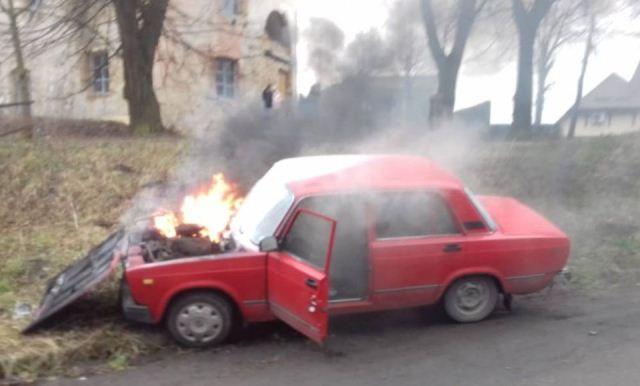 Фото ГУ ДСНС у Рівненській області.
